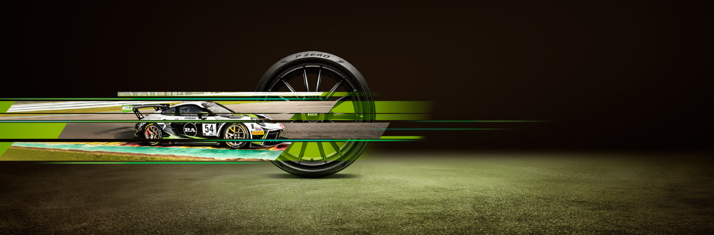 Pirelli Ad - Asphalt background