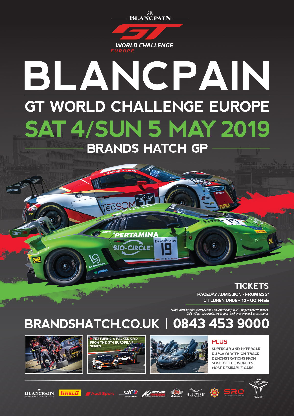 Brands Hatch, 4 - 5 May 2019 | Blancpain GT Series