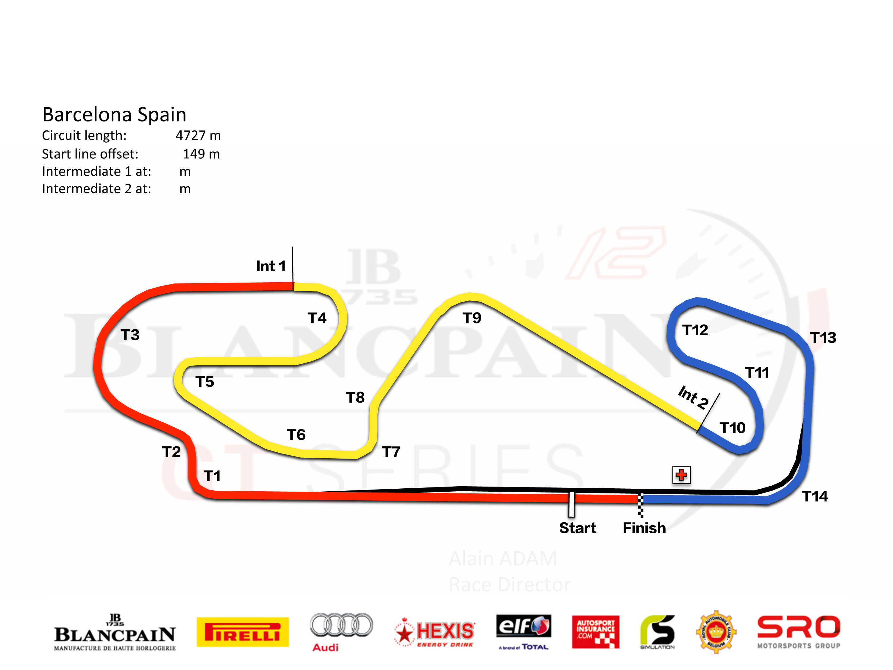 Barcelona Official Site Of Blancpain Gt Series