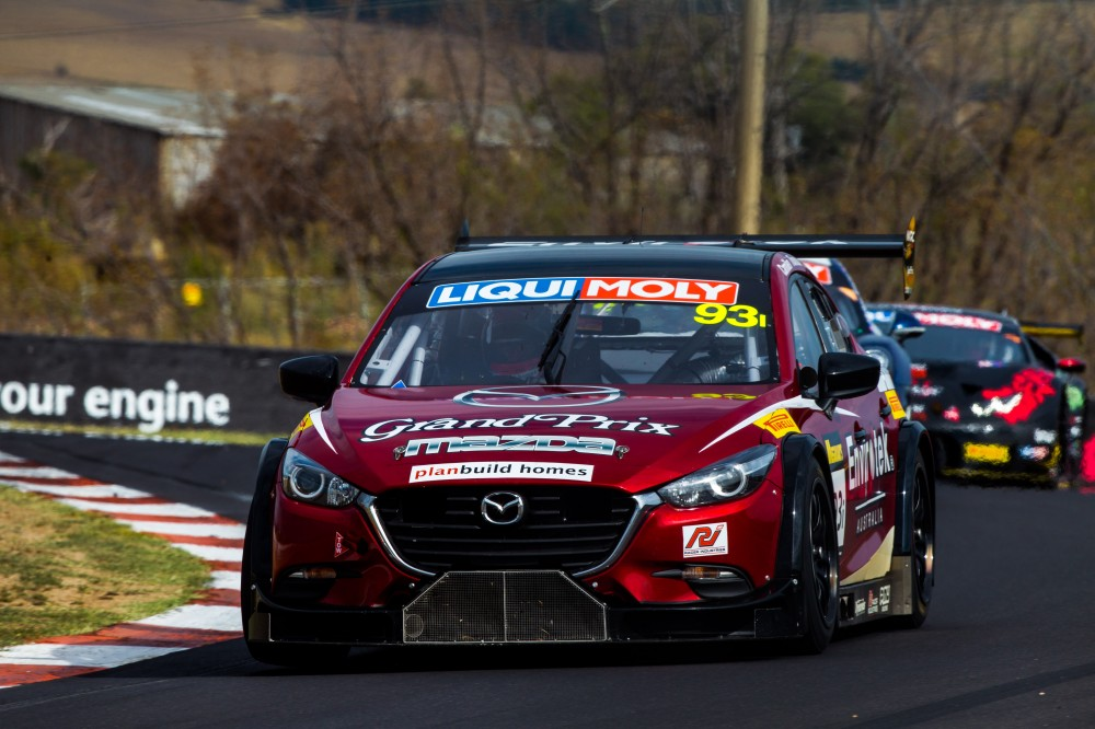 MARC Cars Australia Takes Mazda V8s To Mazda Raceway California 8 ...