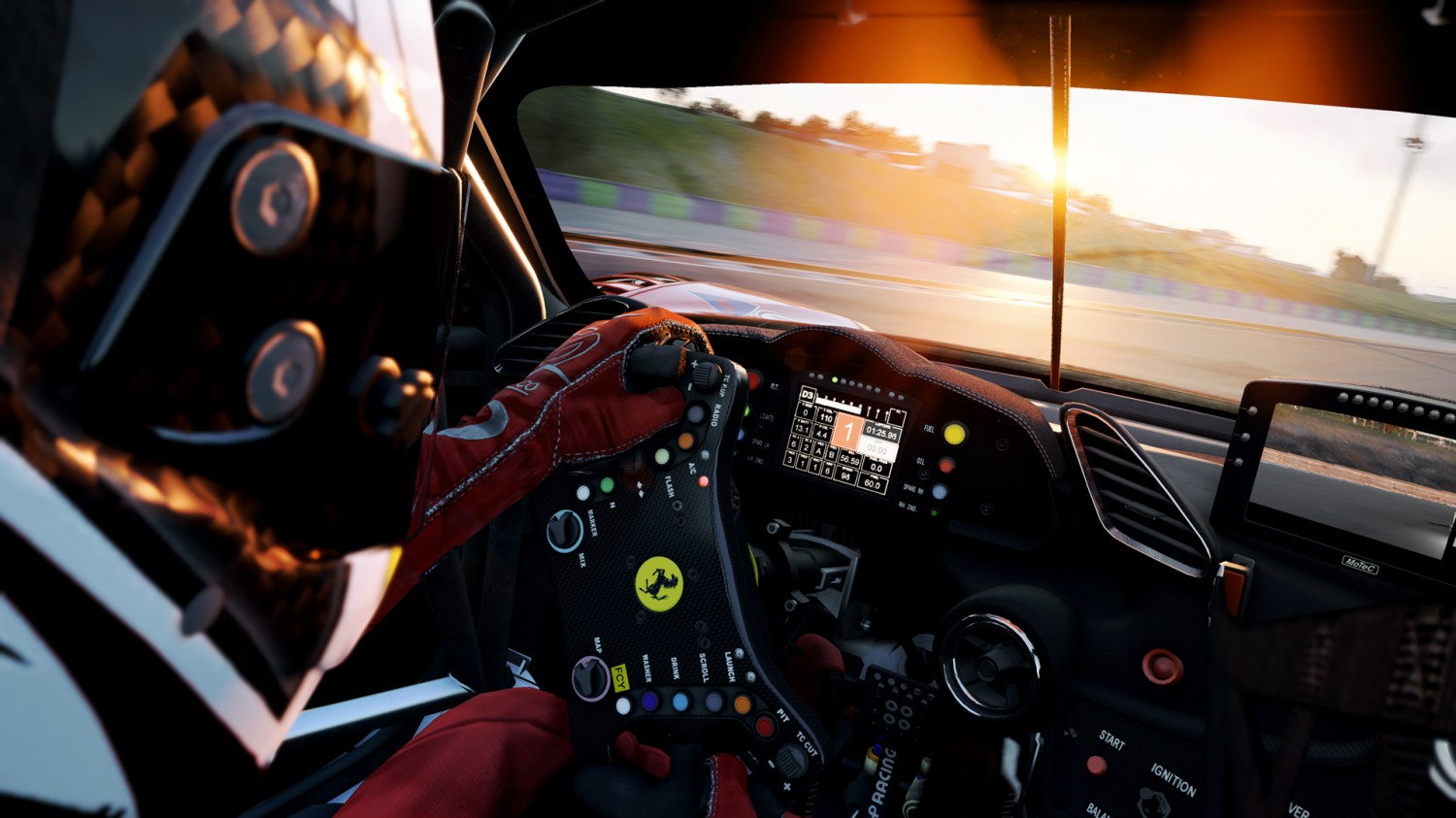 The latest Assetto Corsa Competizione update brings in the prancing horse