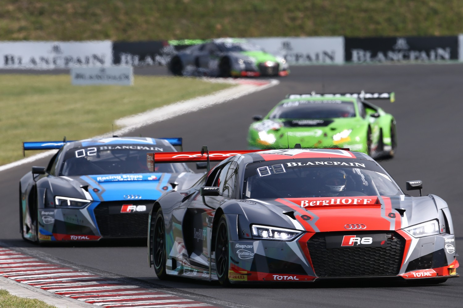 Belgian Audi Club Team WRT completes Budapest grand slam with Main Race success