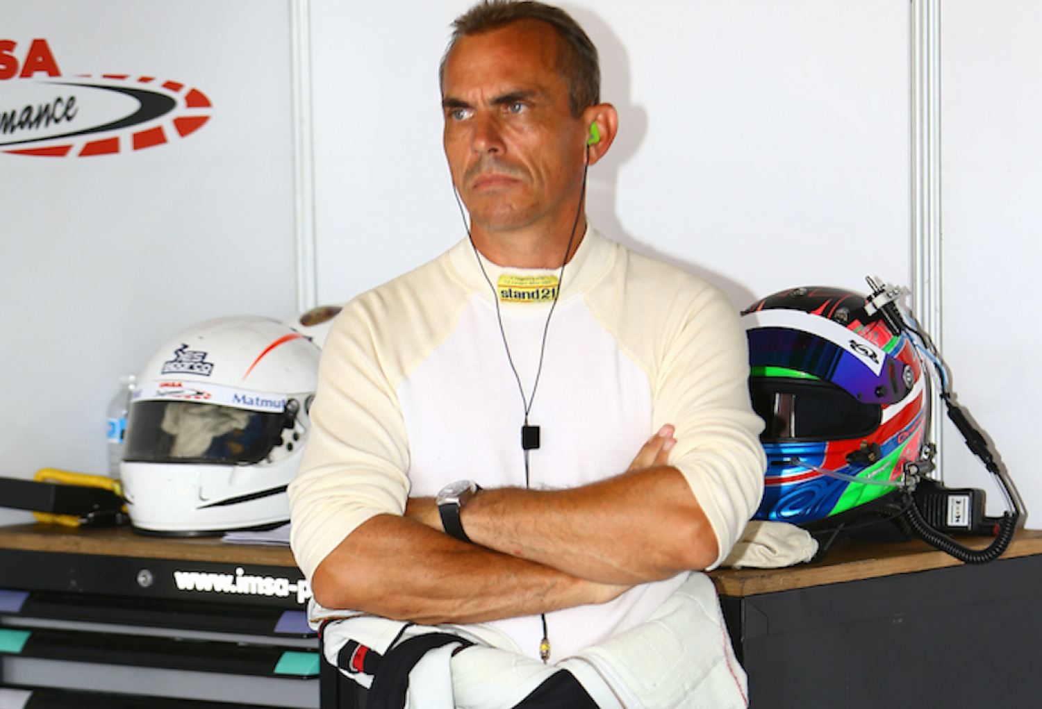 Eric Hélary appointed driver advisor for Total 24 Hours of Spa
