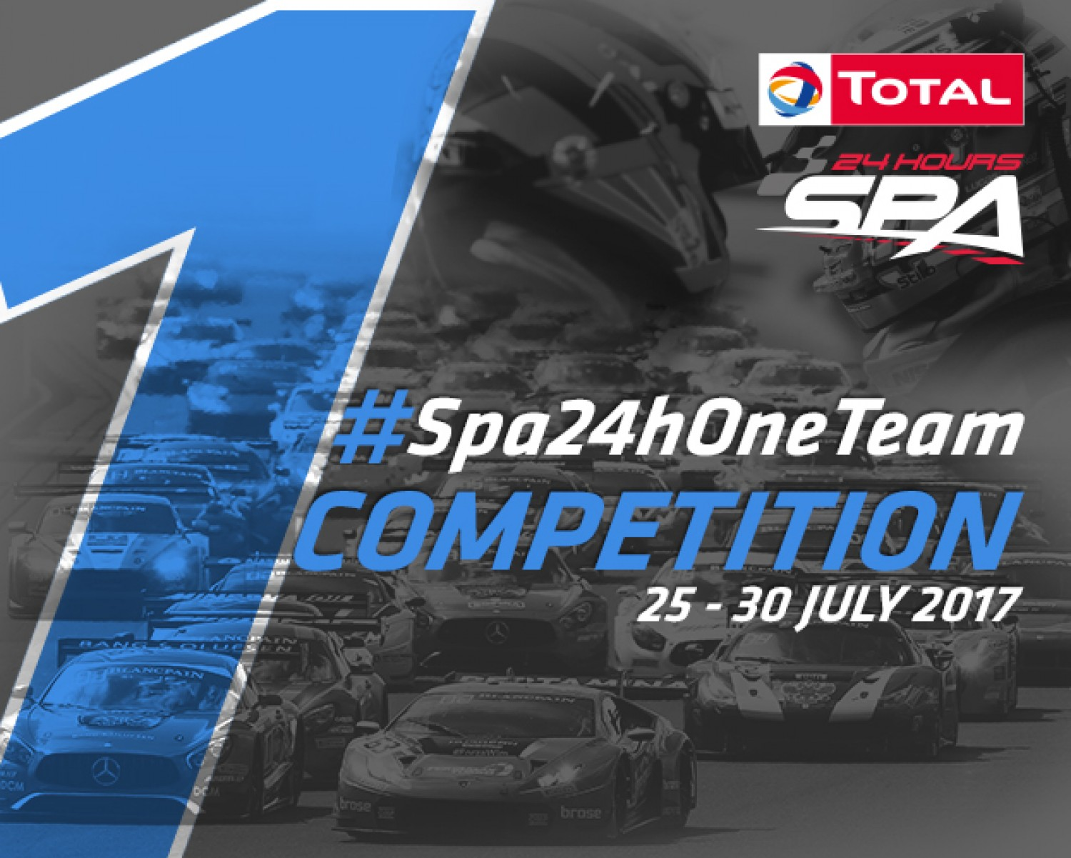 Total 24 Hours of Spa teams compete in Team Spirit Competition