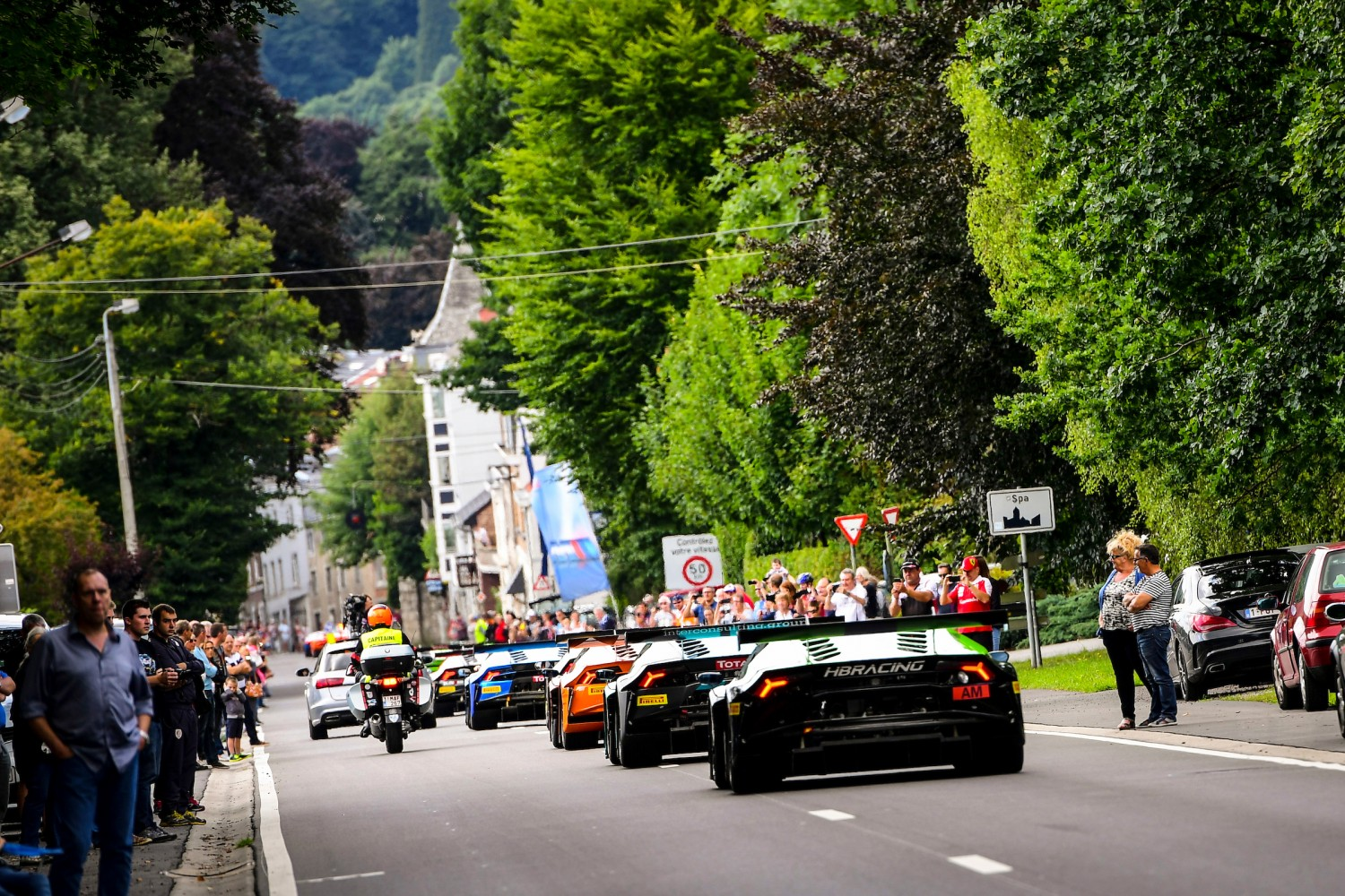 Total 24 Hours of Spa Parade a resounding success