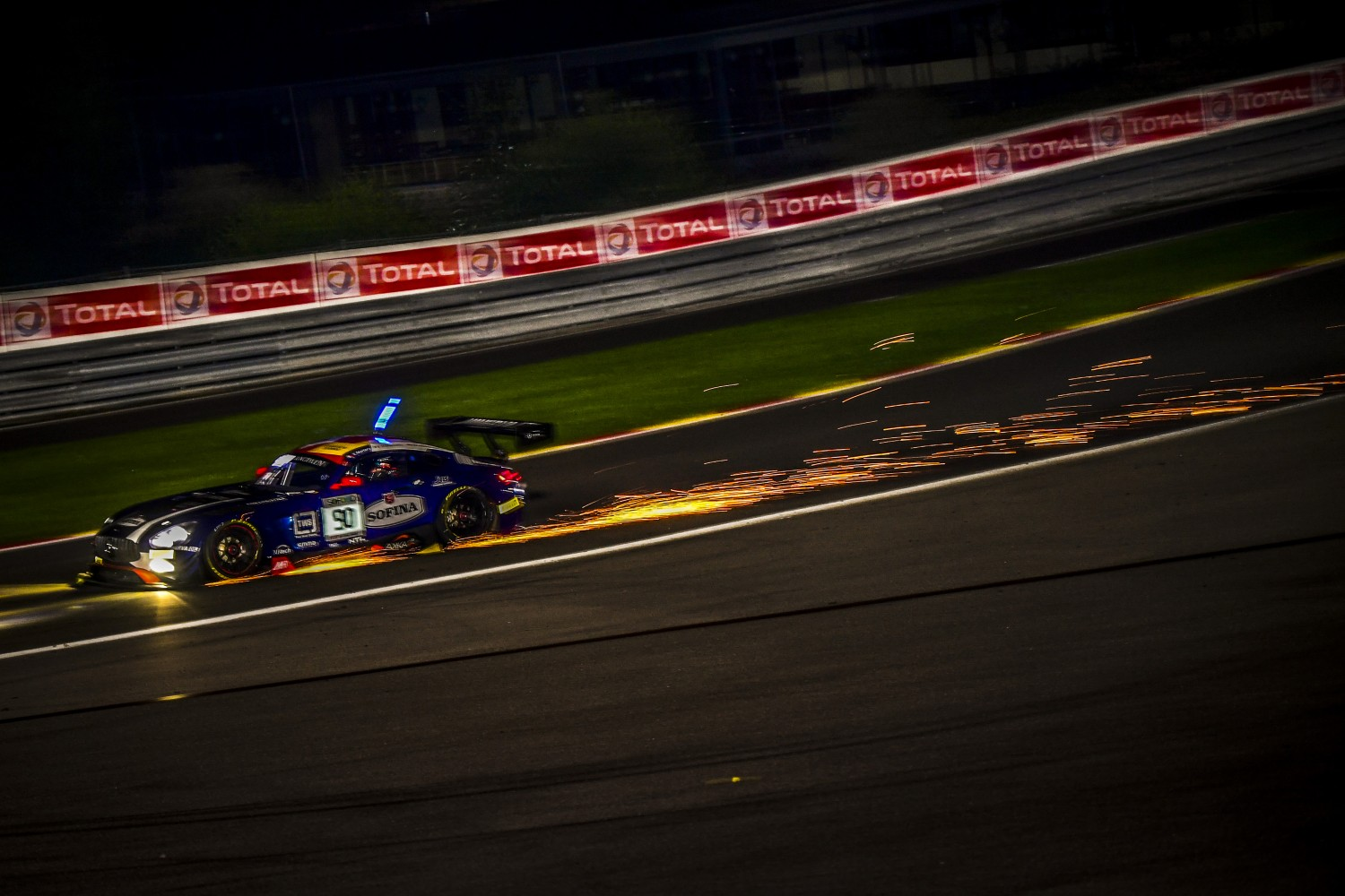 Raffaelle Marciello fastest in qualifying for the Total 24 Hours of Spa