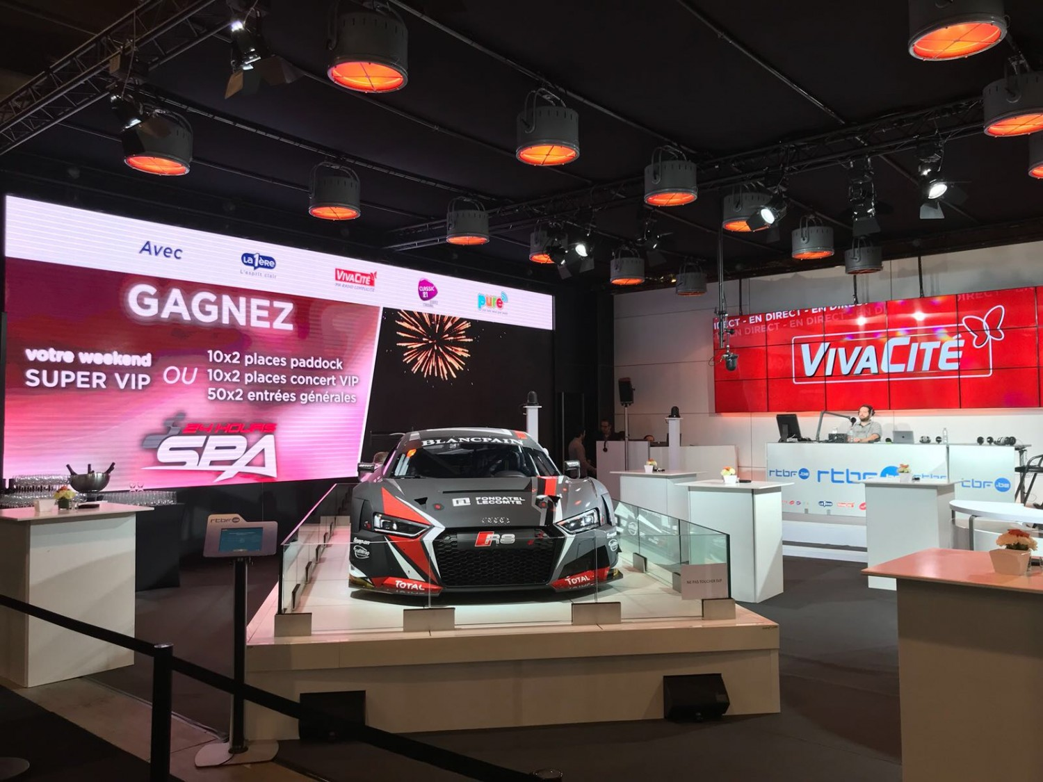 Total 24 Hours of Spa VIP tickets to win at Brussels Motor Show