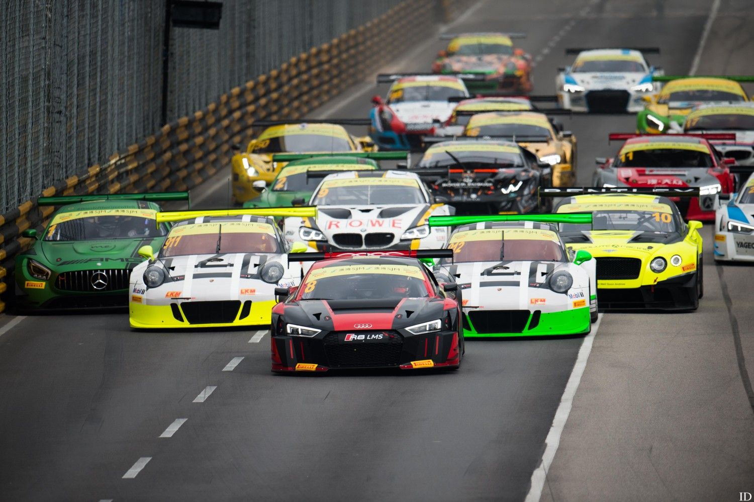 Blancpain GT Series champions at the start of FIA GT World Cup