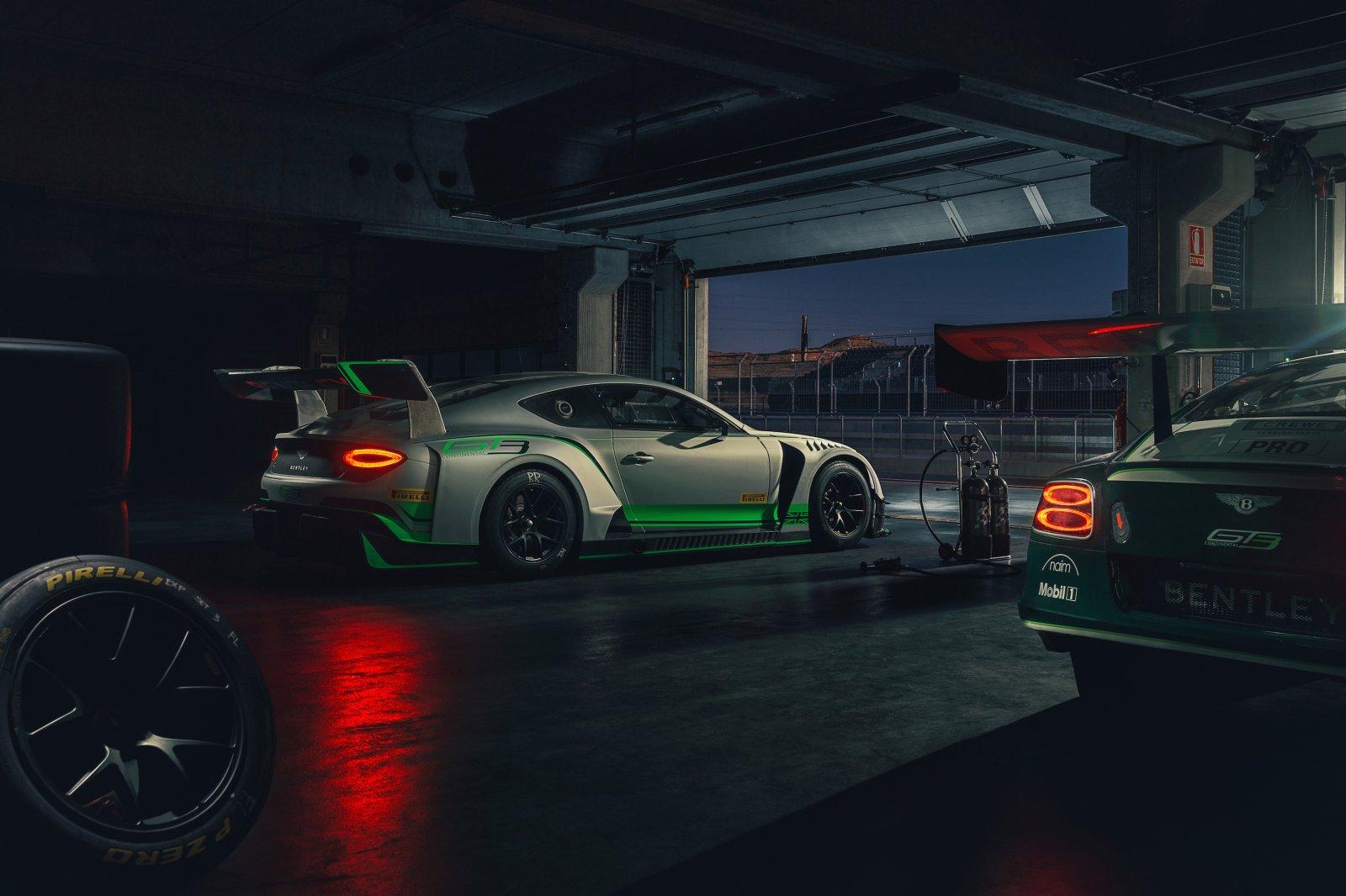 Bentley Motorsport announces 2018 Line-up