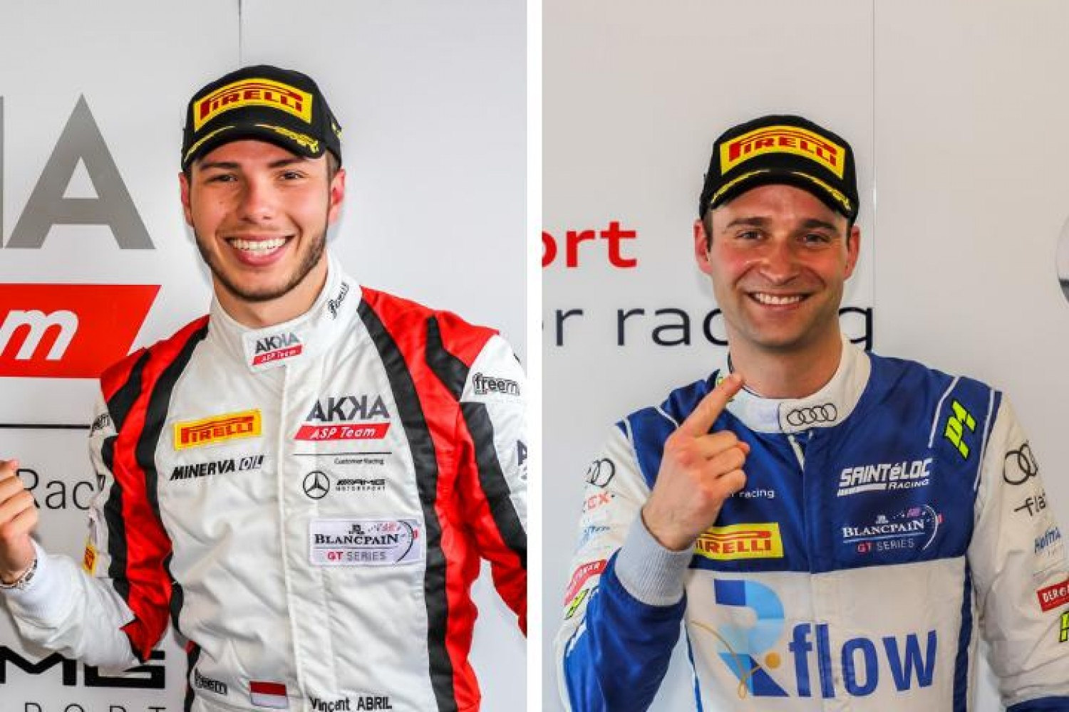 Abril and Haase master tricky conditions to secure Zandvoort poles