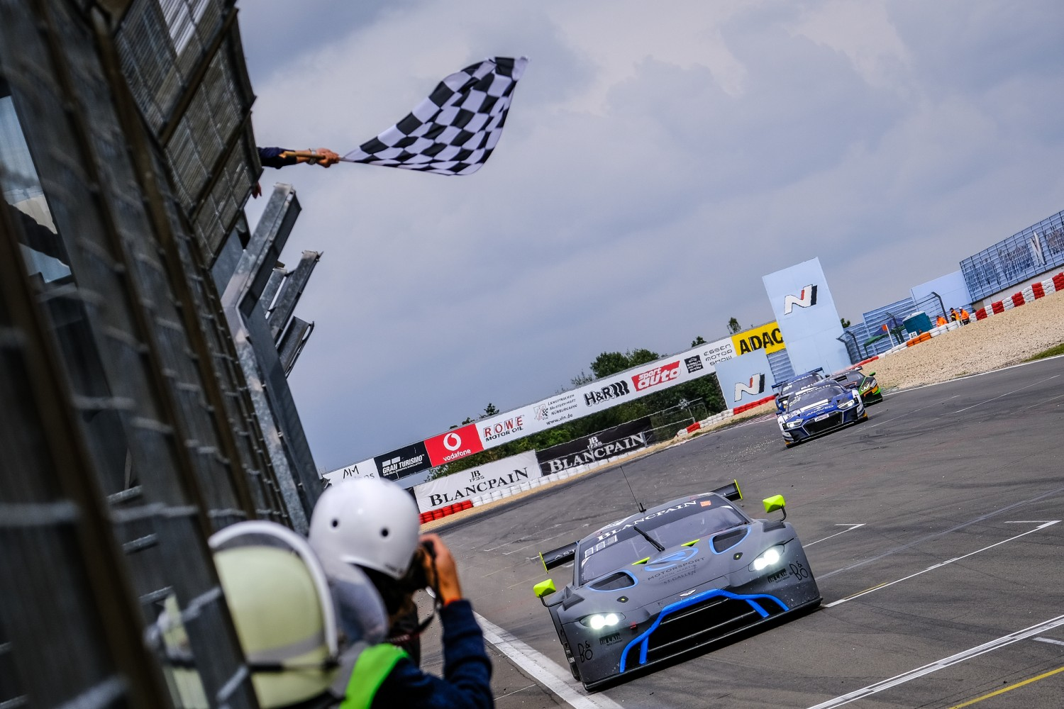 R-Motorsport Aston Martin clinch maiden Blancpain GT World Challenge Europe victory as Collard and Kirchhöfer triumph at Nürburgring