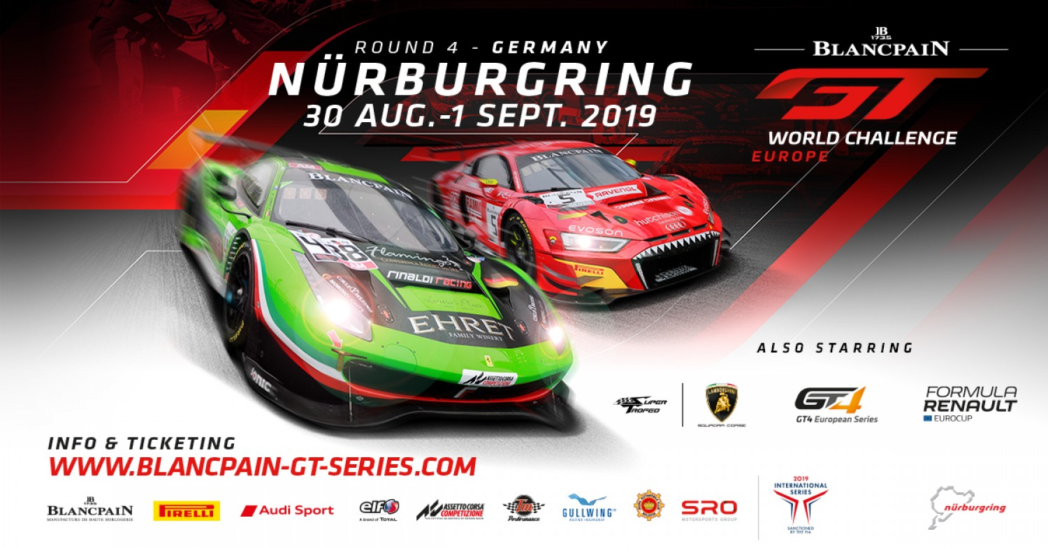 Final sprint for Blancpain GT World Challenge Europe titles gets underway at the Nürburgring