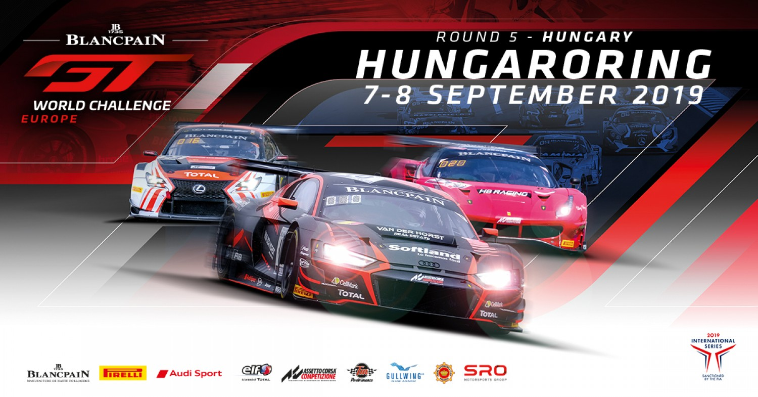 Everything to play for as Blancpain GT World Challenge Europe prepares for season-deciding weekend in Hungary