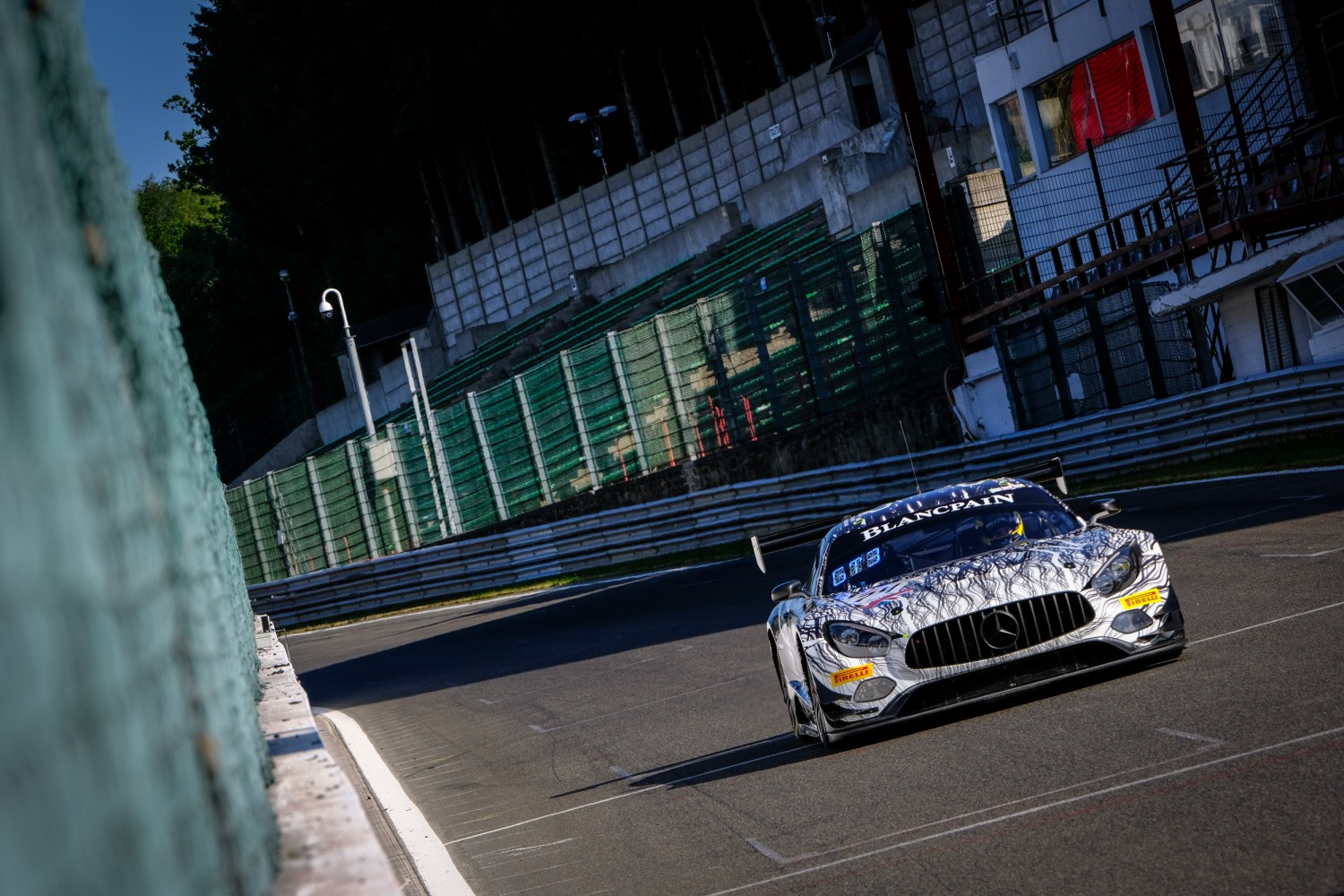 Ram Racing Mercedes-AMG leads the way as Bronze Test begins Total 24 Hours of Spa track action