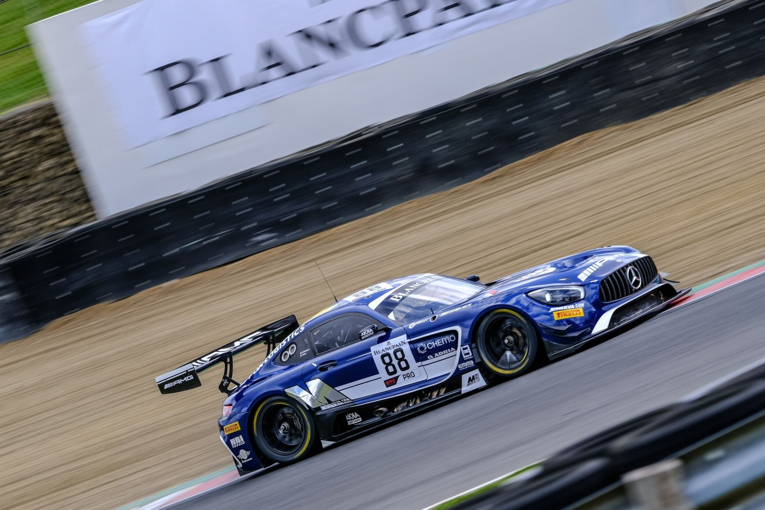 Marciello paces opening Blancpain GT World Challenge Europe practice for AKKA ASP Mercedes-AMG