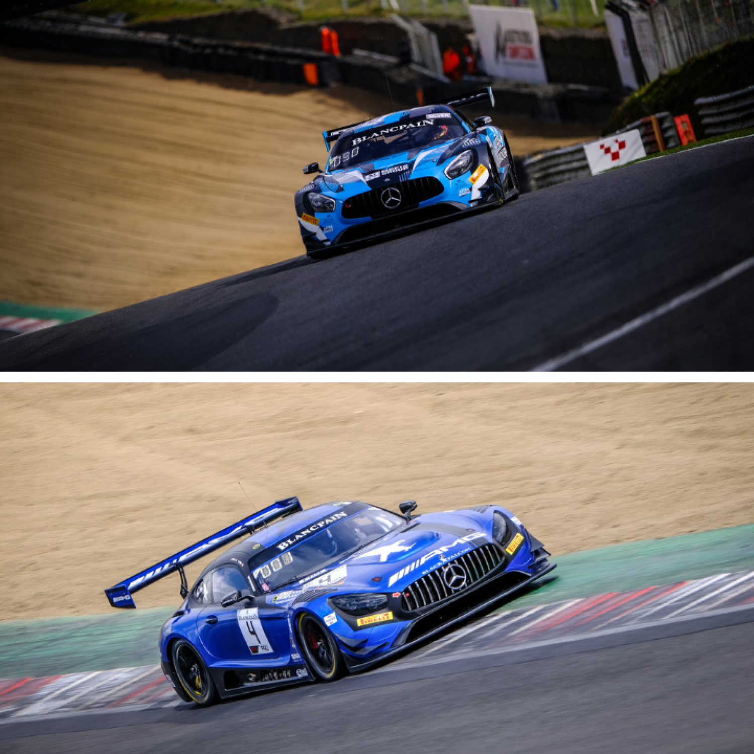Black Falcon and AKKA ASP secure Mercedes-AMG pole position sweep in dramatic Brands Hatch qualifying