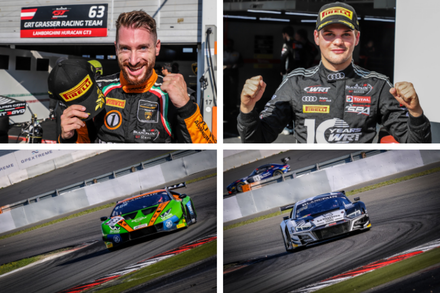 Bortolotti and Vanthoor take pole positions as title battle heats up at Nürburgring