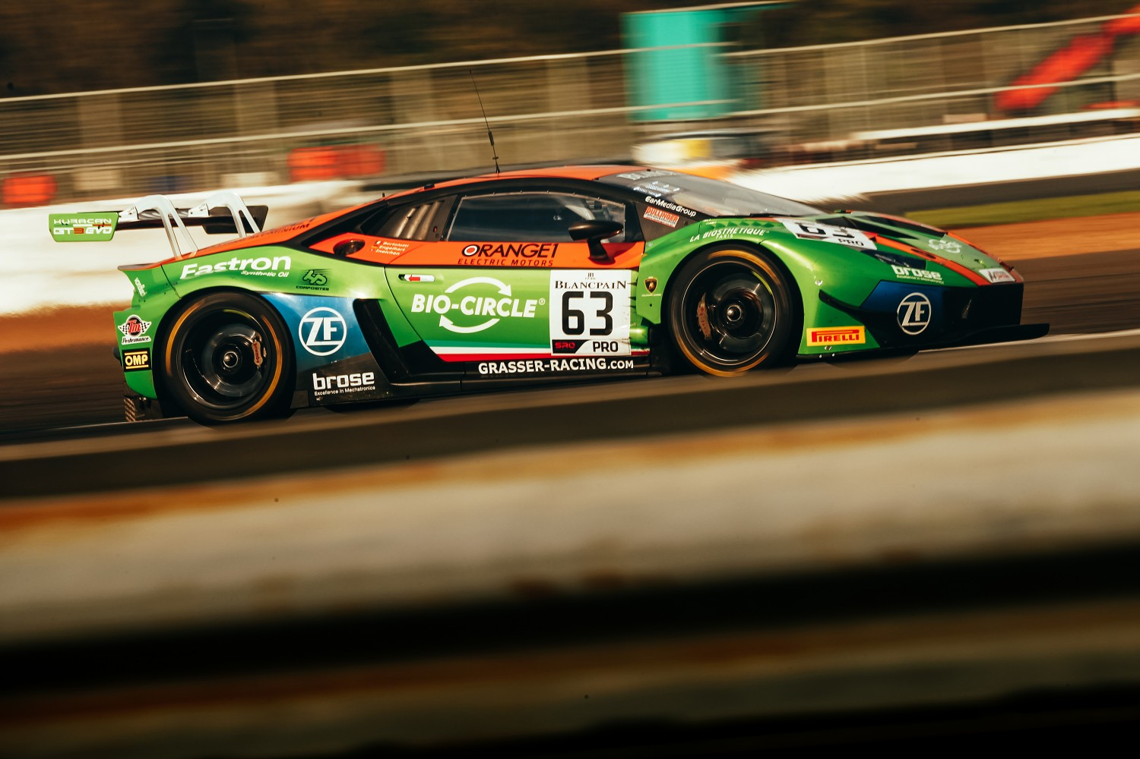 Grasser Lamborghini hits the front in pre-qualifying as Bortolotti sets the pace at Silverstone
