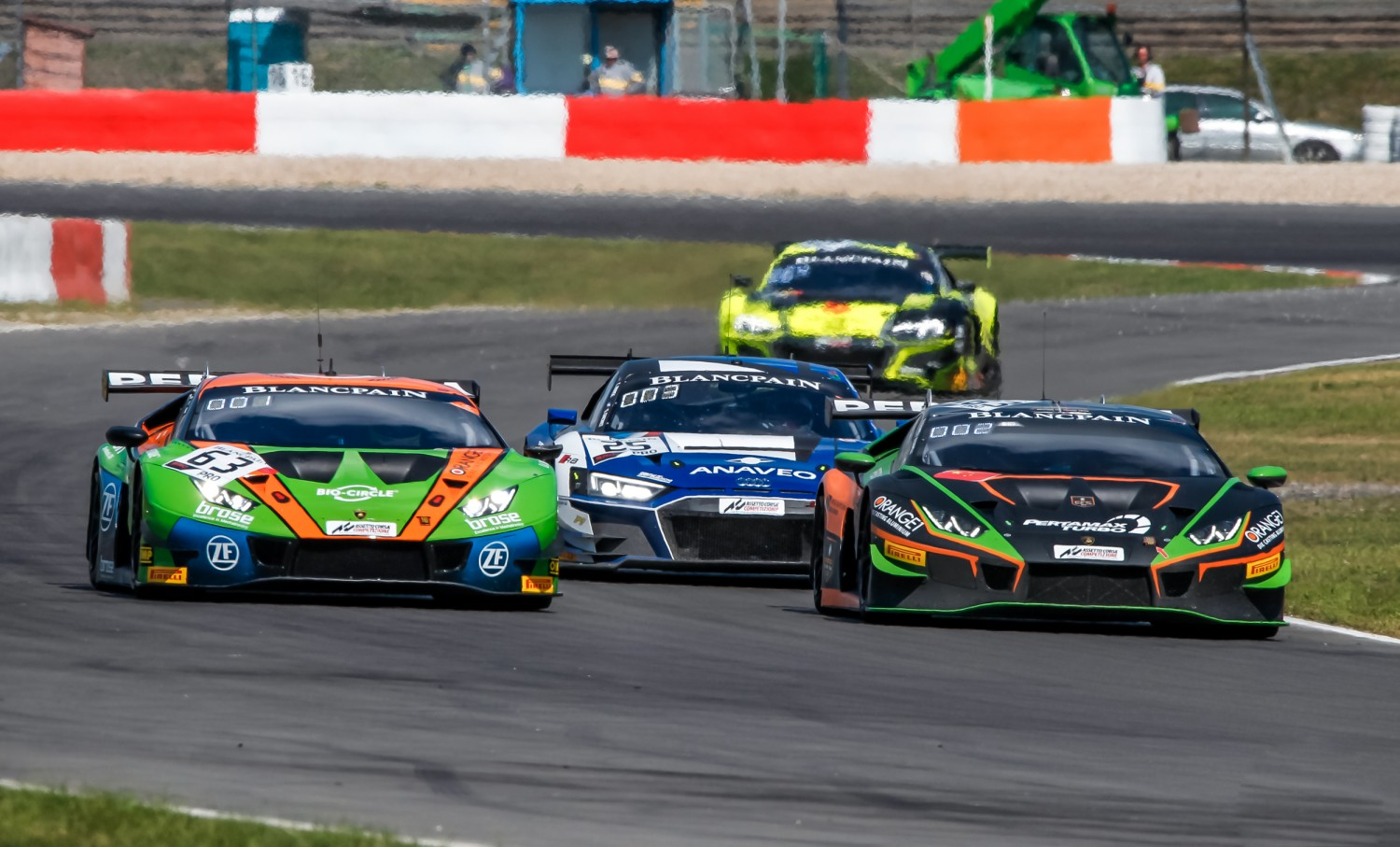 Caldarelli and Mapelli seize championship advantage as Orange1 FFF Racing Lamborghini wins thrilling Nürburgring battle