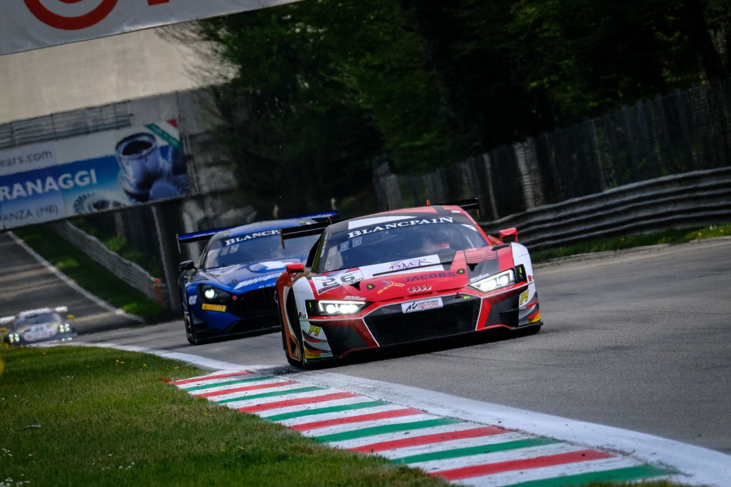Sainteloc-Audi on top in opening Blancpain GT Series practice at Monza