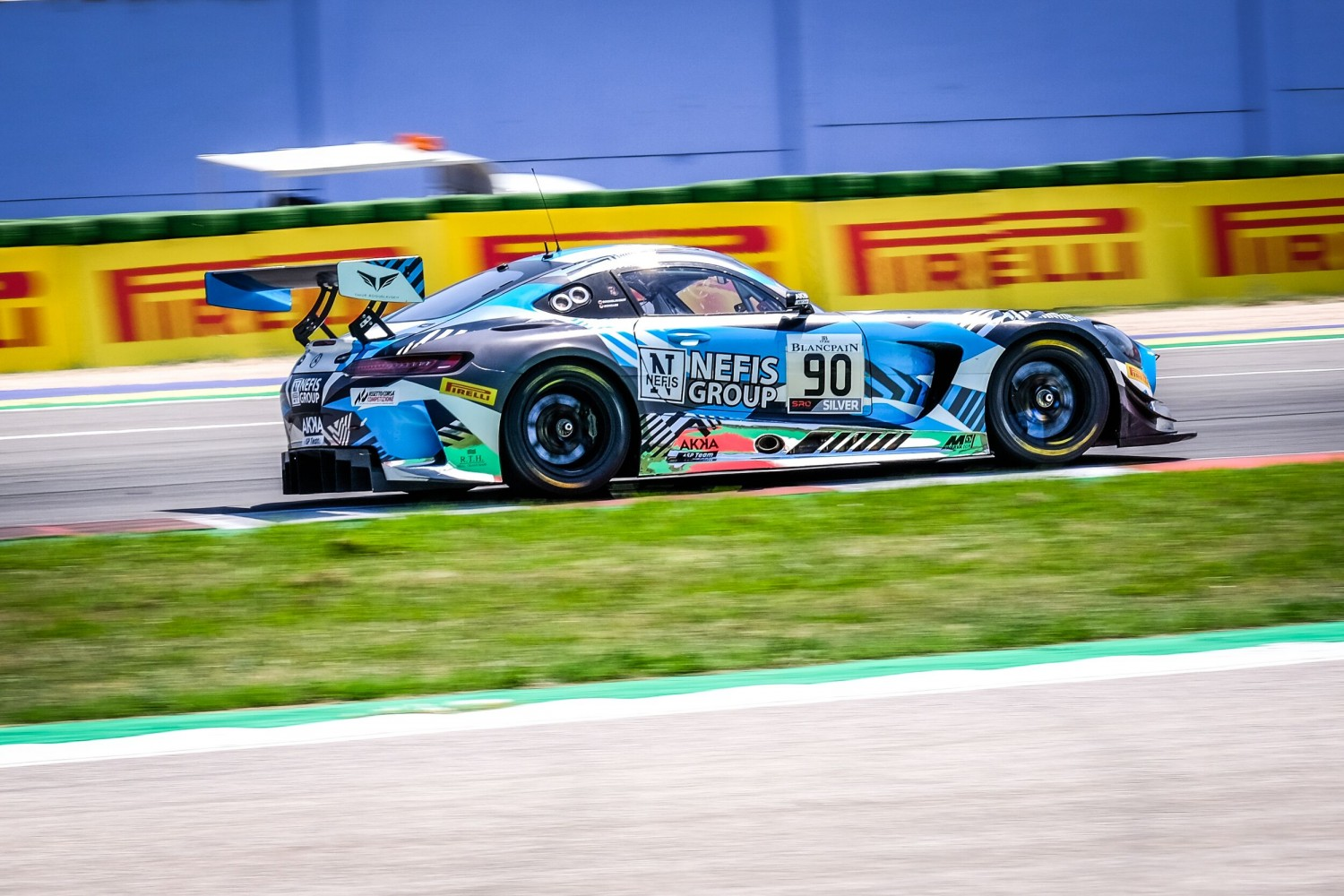 AKKA ASP leads the way at Misano as #90 Mercedes-AMG sets the pace in free practice