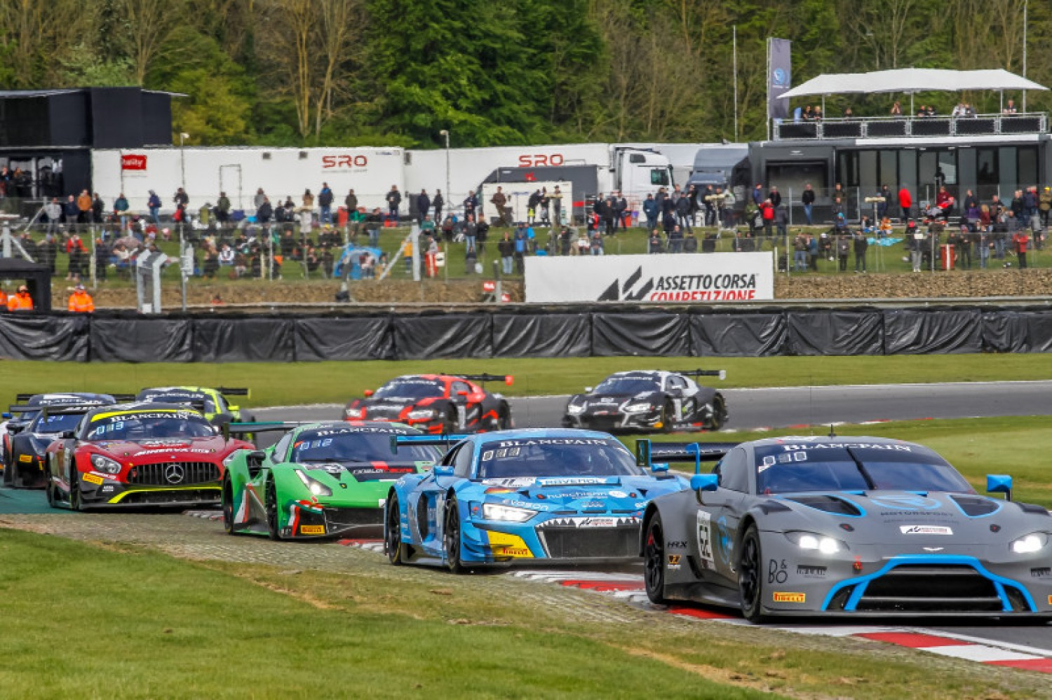 Blancpain GT World Challenge Europe grid reaches capacity for Misano as GetSpeed Performance adds extra Mercedes-AMG