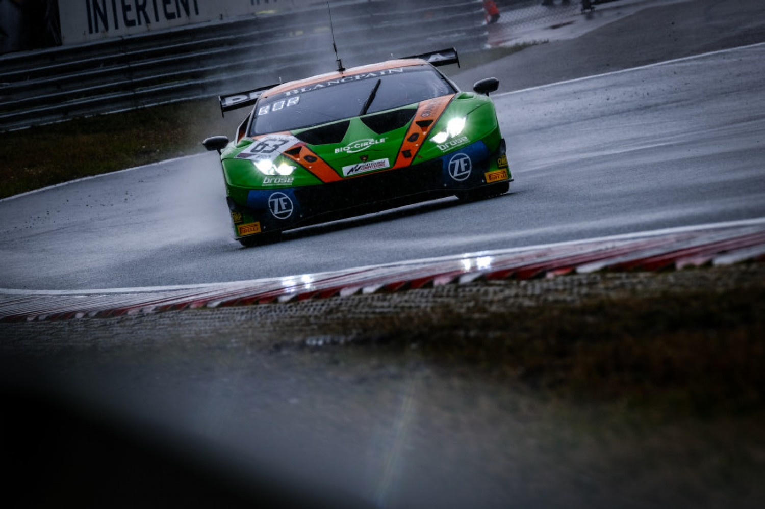 #63 Grasser Lamborghini disqualified from Q2 results at Zandvoort; car set to race under appeal