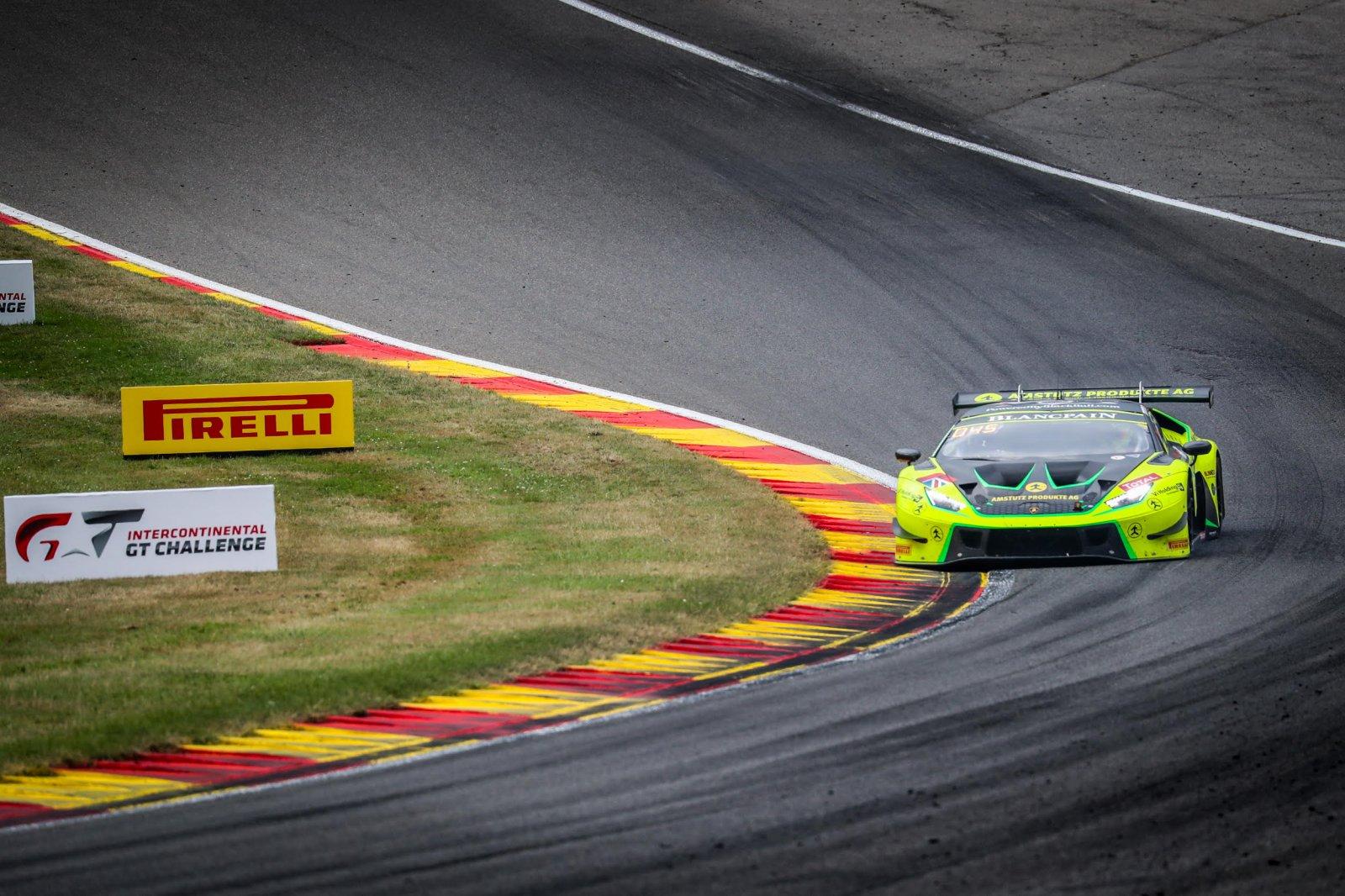 Kujala puts #77 Barwell Lamborghini on top in pre-qualifying