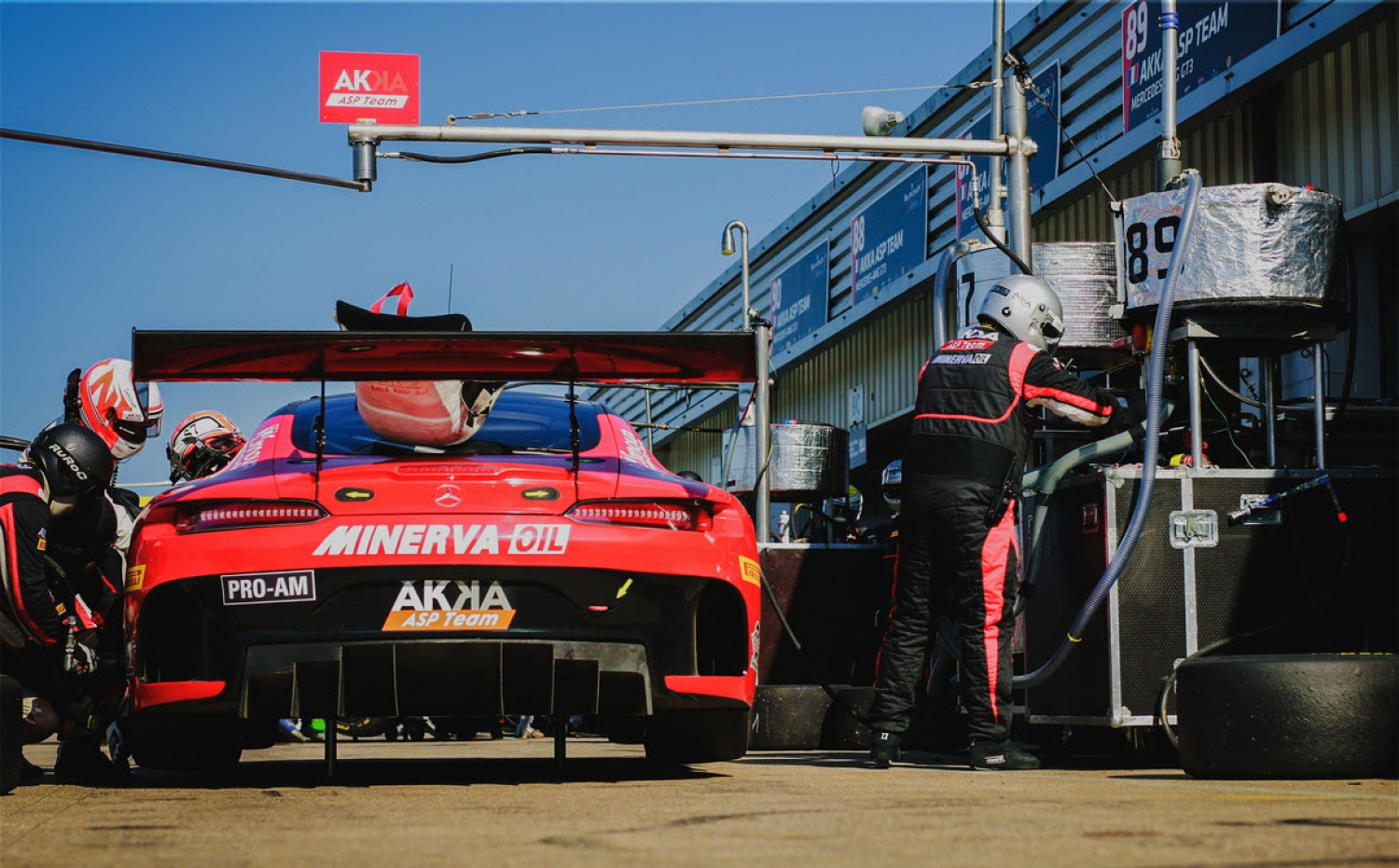 AKKA ASP Team reveals new Pro-Am line-up for full-season