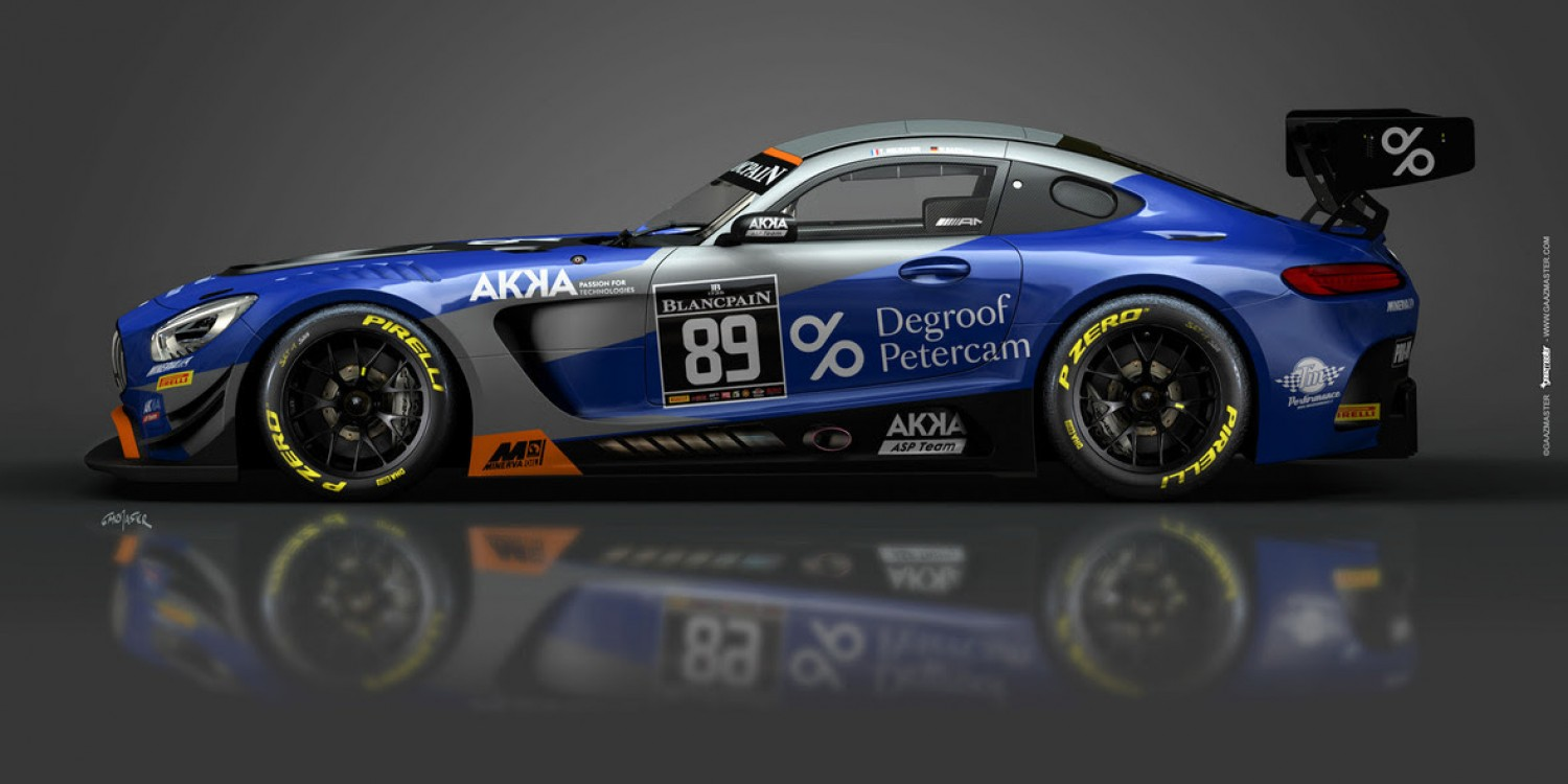 AKKA ASP to defend Silver Cup title in Blancpain GT World Challenge