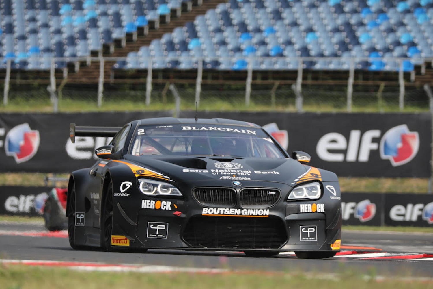 Boutsen Ginion Racing sets line-ups for two-car Blancpain GT Series return