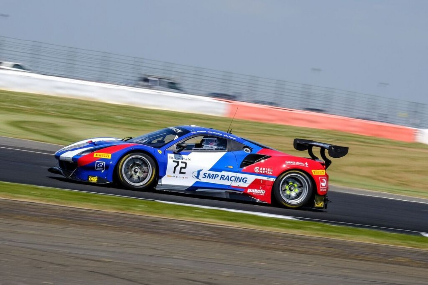 SMP Ferrari hits the front in opening Silverstone practice