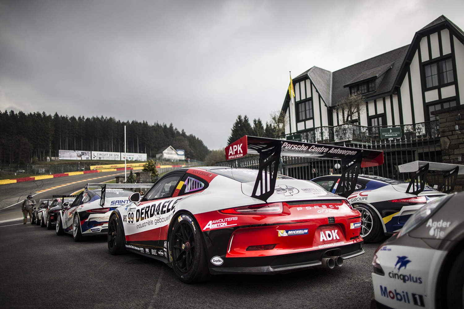 Porsche GT3 Cup Challenge Benelux brings more excitement to Total 24 Hours of Spa weekend