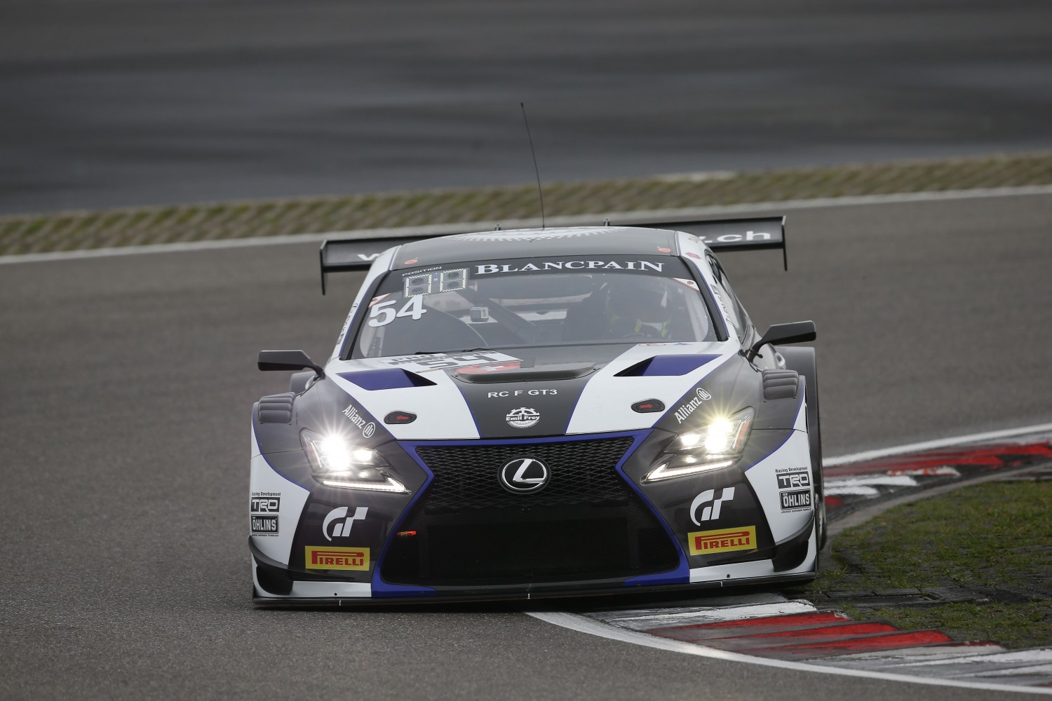 Emil Frey Lexus Racing to compete with two Lexus RC F GT3 in Total 24 Hours of Spa