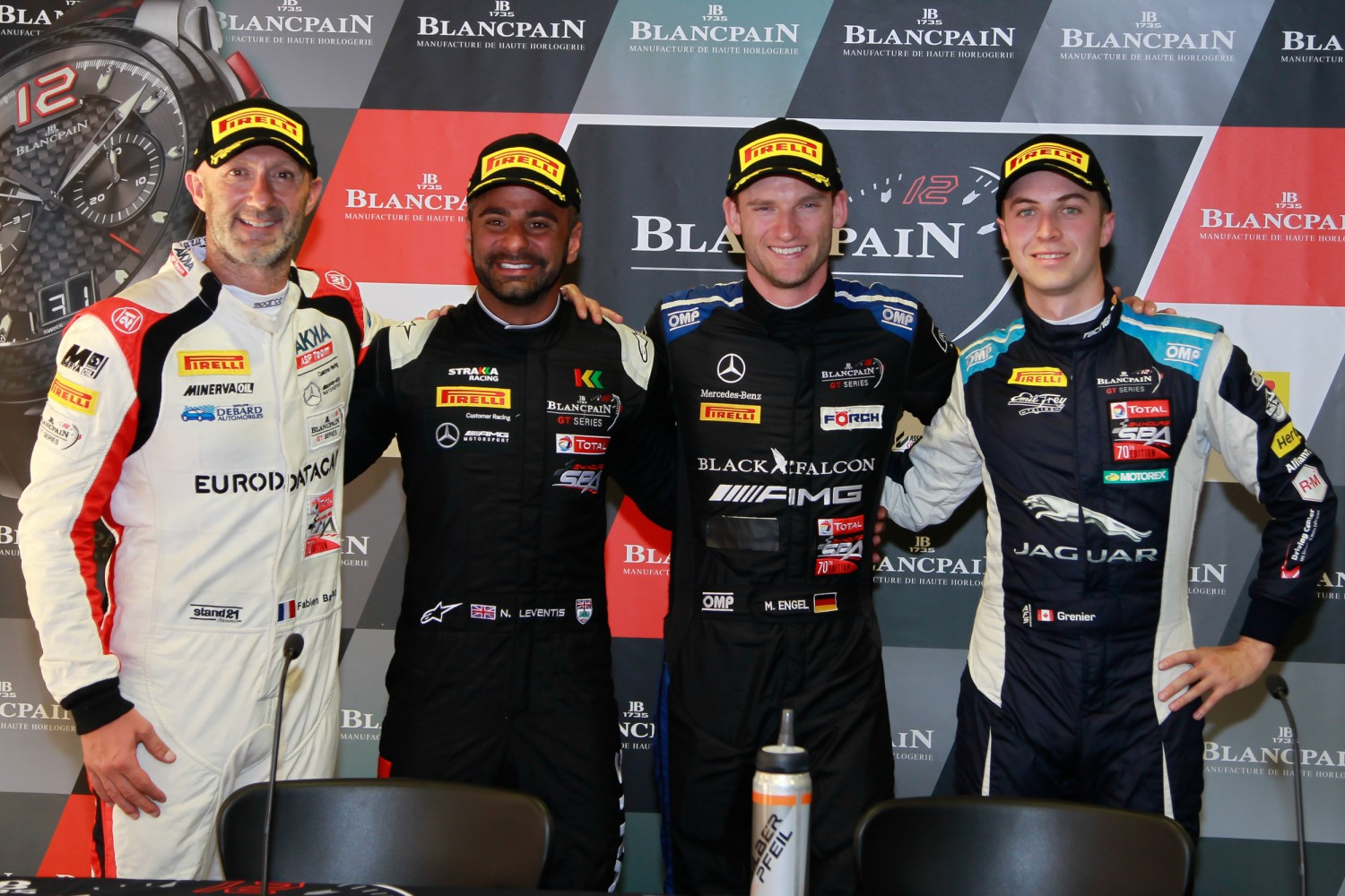 Mercedes-AMG Team Black Falcon takes Barcelona pole to set up dramatic title showdown