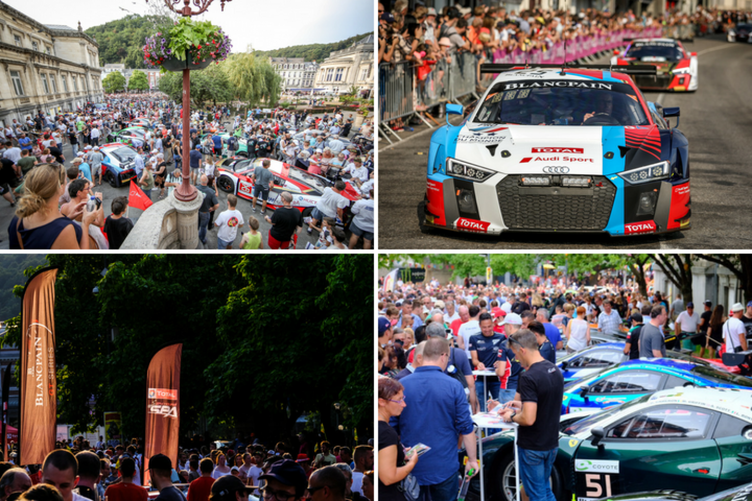Successful Total 24 Hours of Spa parade puts fans at the heart of the action