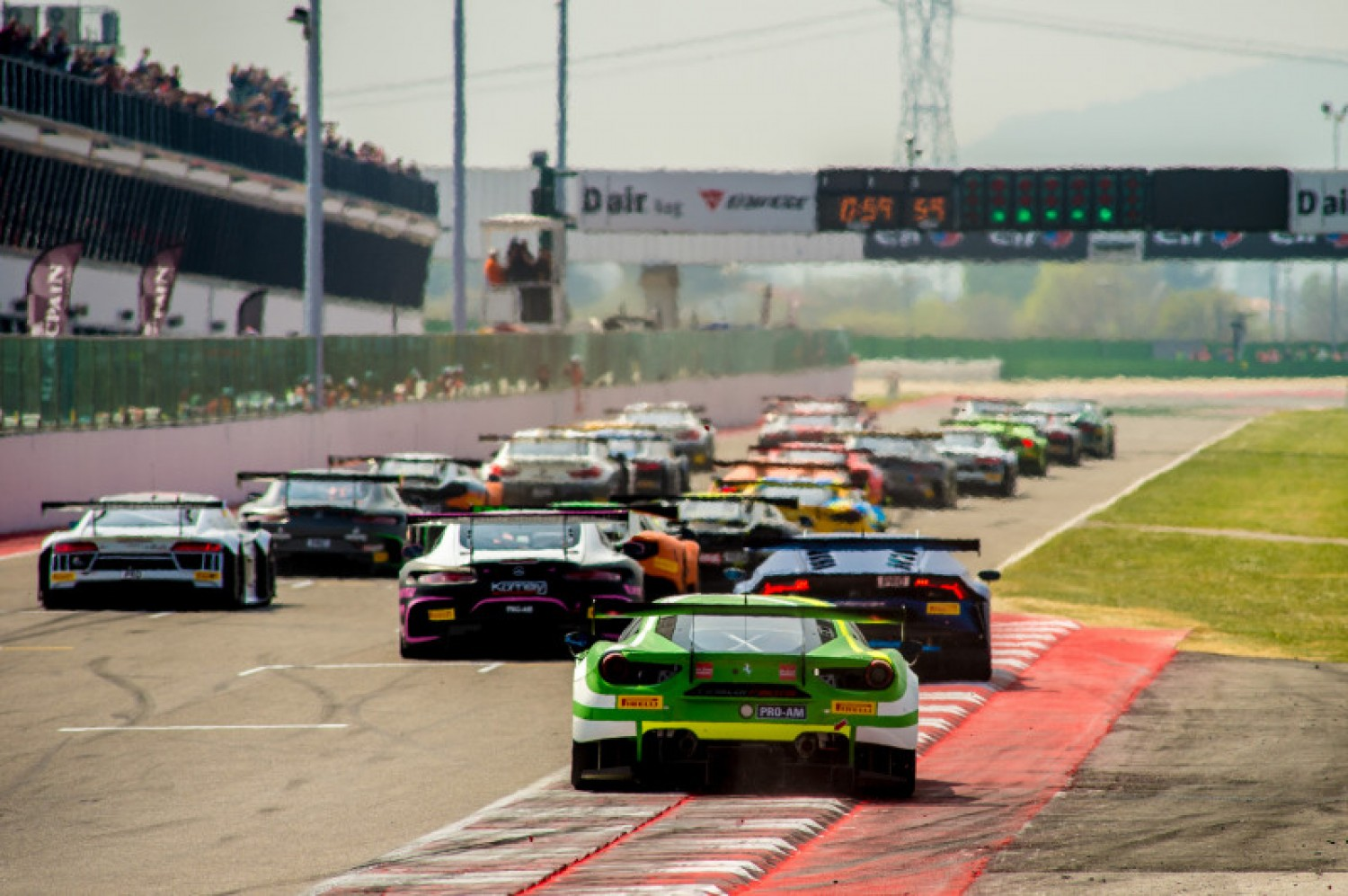 Final entry list confirmed for Misano Sprint Cup contest