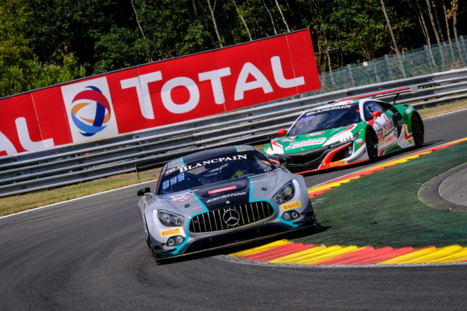 Ram Racing leads Mercedes-AMG one-two in Total 24 Hours of Spa Bronze Test