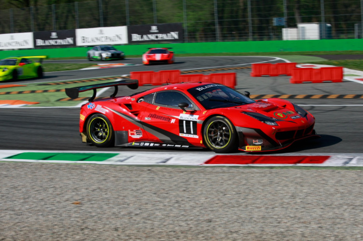 Kessel Racing put Ferrari on top in free practice at Monza