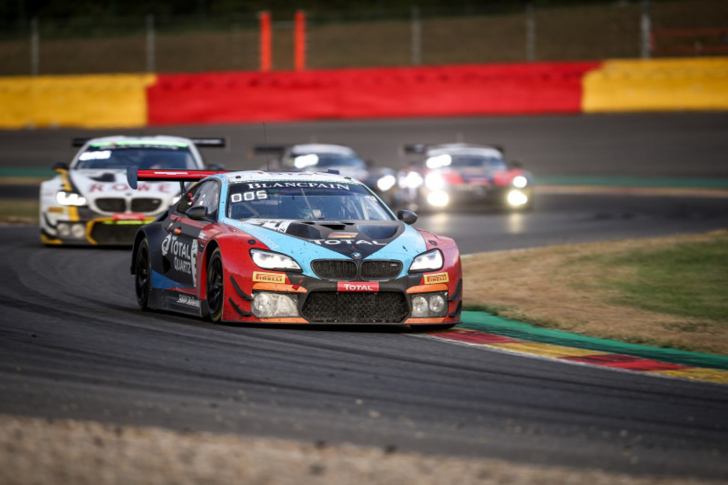 Walkenhorst machine leads BMW battle with three hours to go at Spa