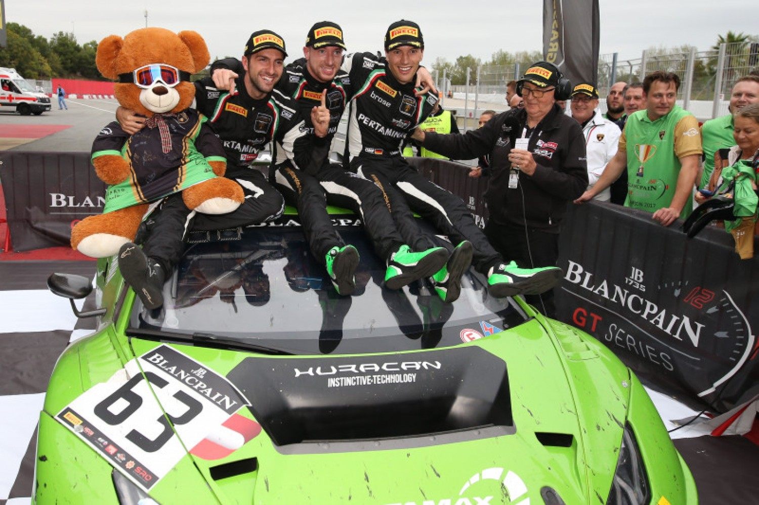 Lamborghini gunning for home-race glory at Misano