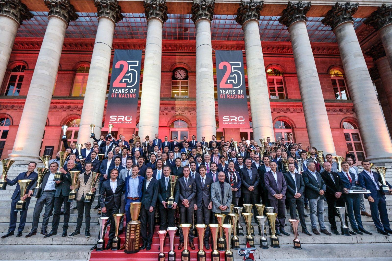 Glamorous finish to the 2017 SRO Motorsports Group championships