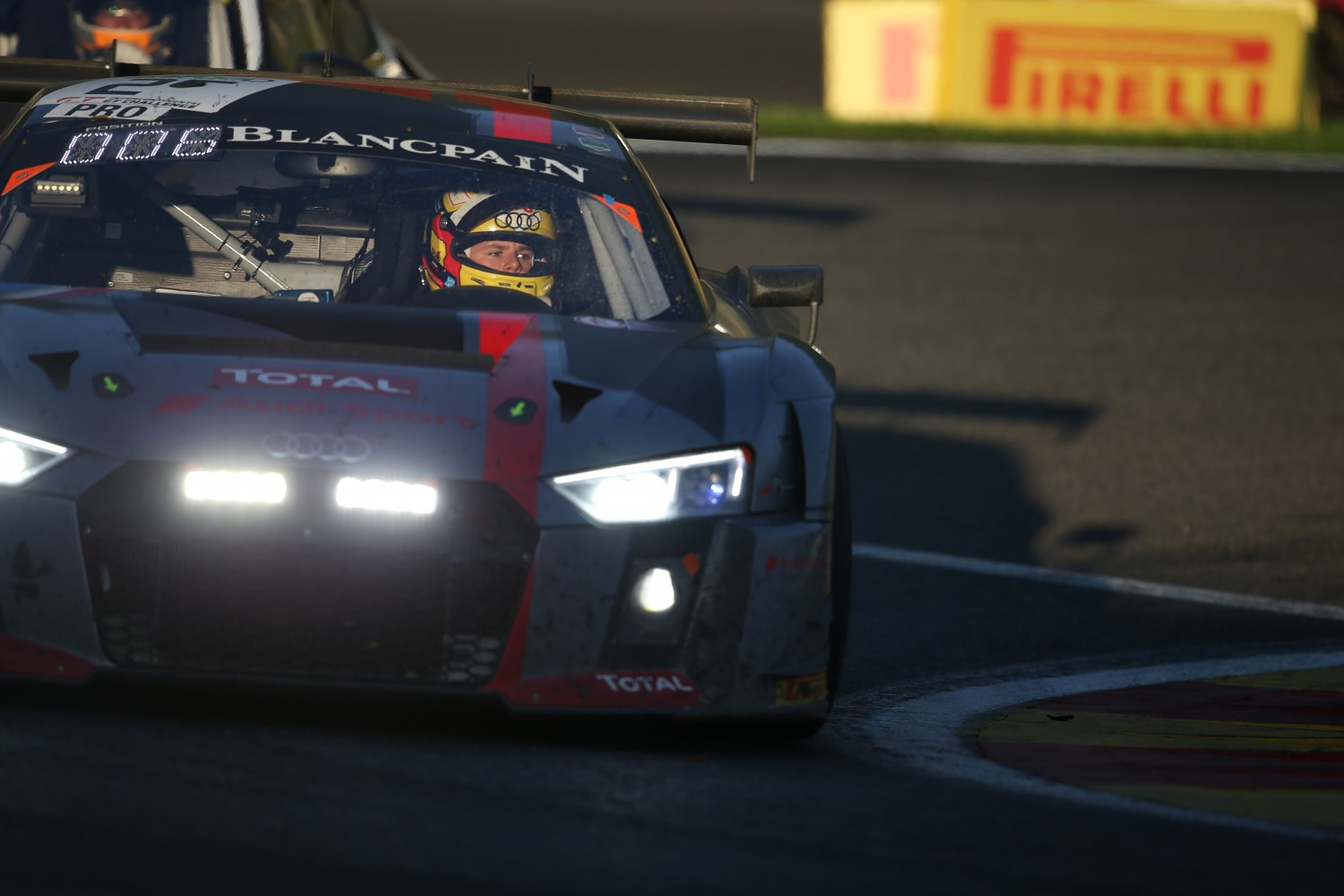 Audi takes its fourth win in Total 24 Hours of Spa