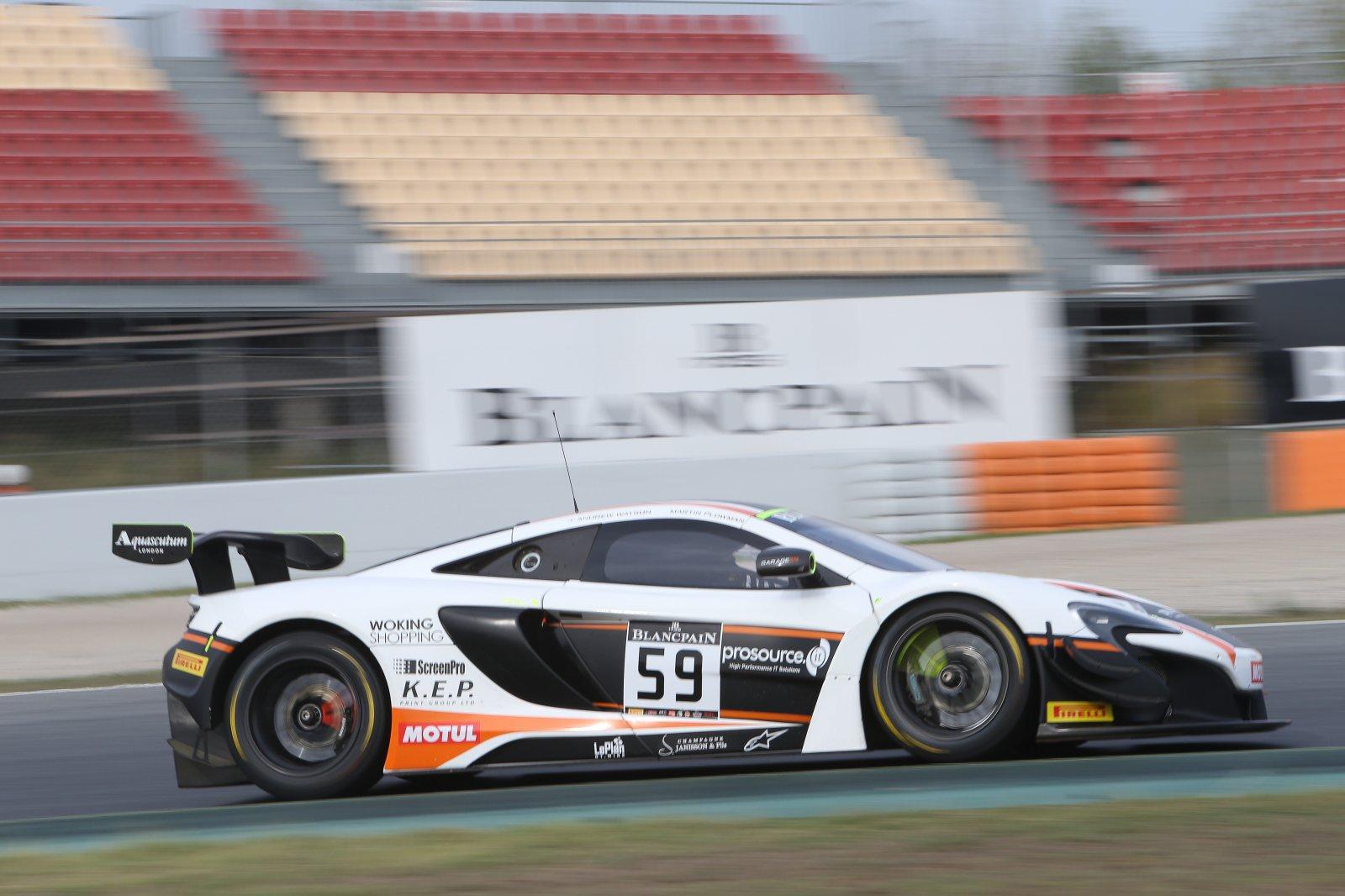 Garage 59 Racing returns to Blancpain GT Series