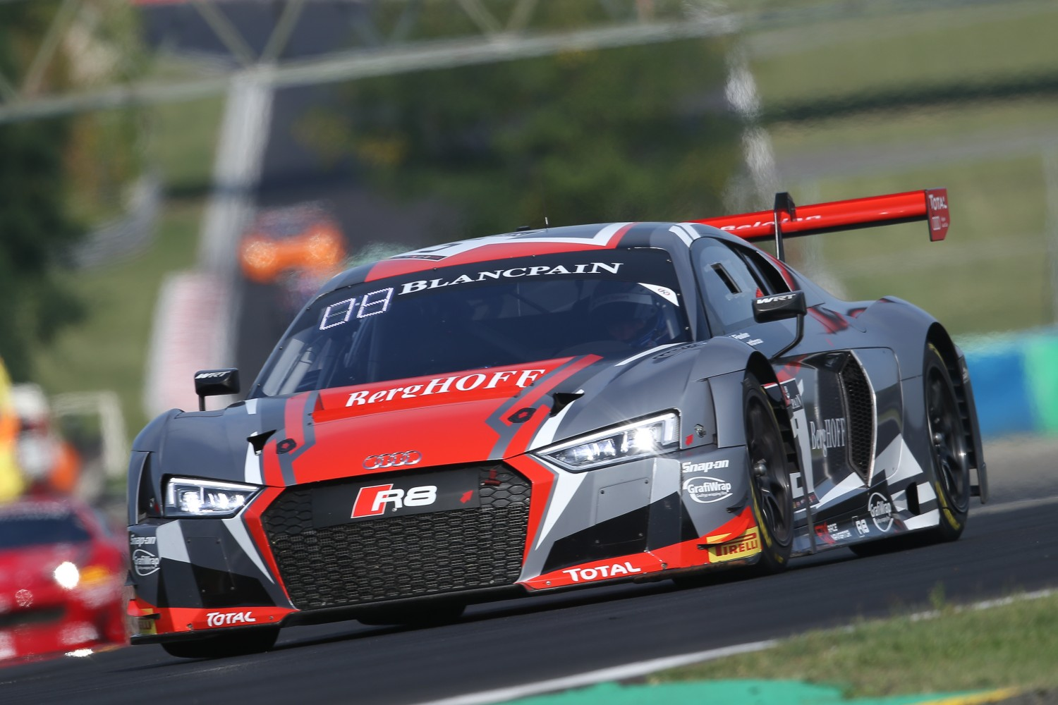 Belgian Audi Club Team WRT tops Sunday warm-up at the Hungaroring