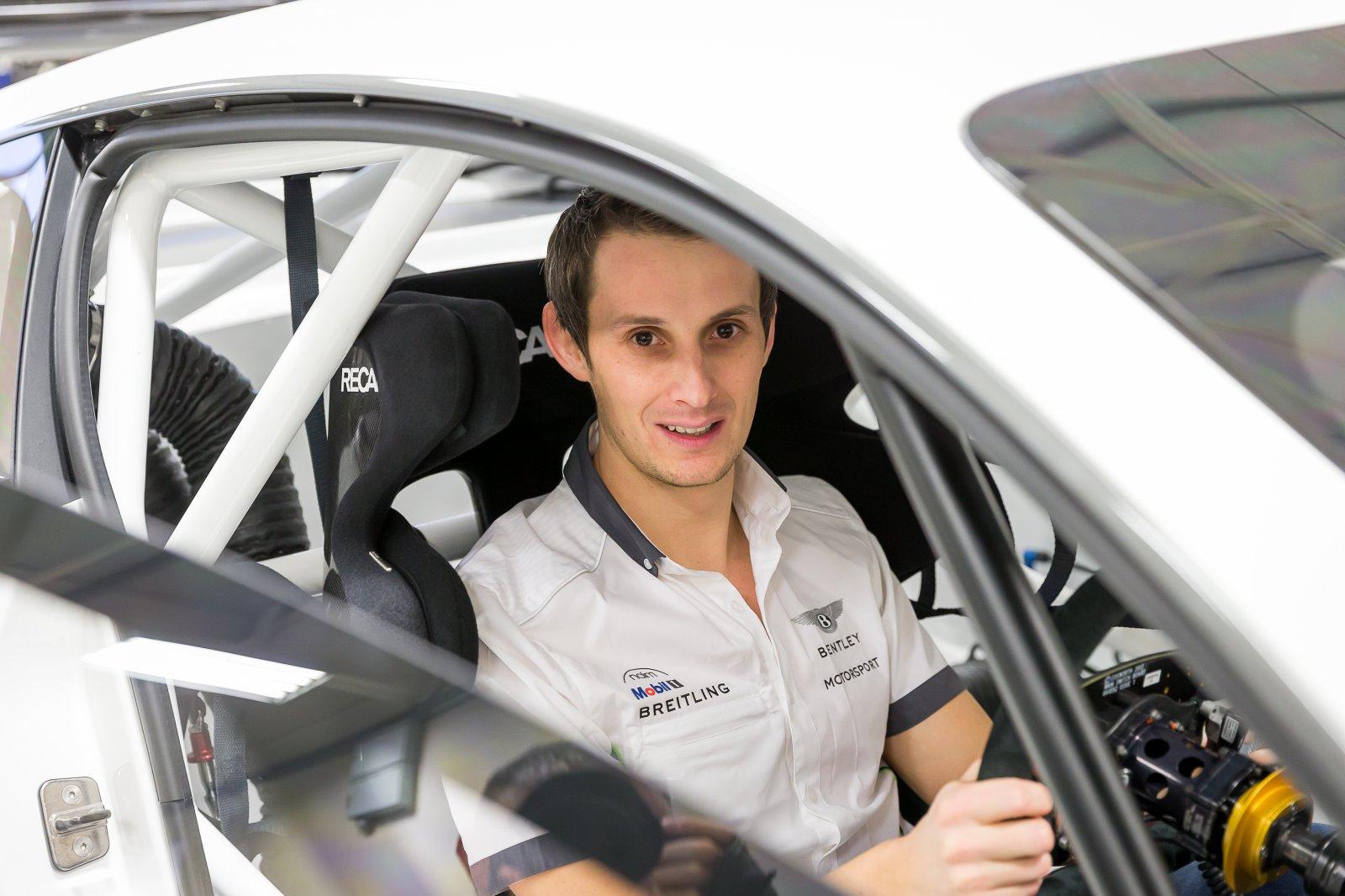 Bentley Motorsport signs British racing driver Oliver Jarvis