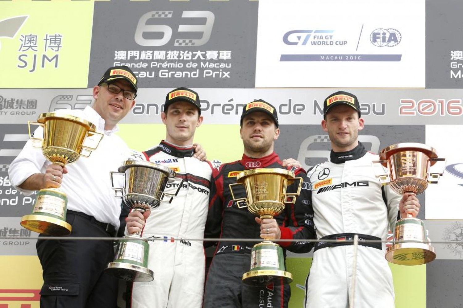 Laurens Vanthoor wins FIA GT World Cup despite violent crash