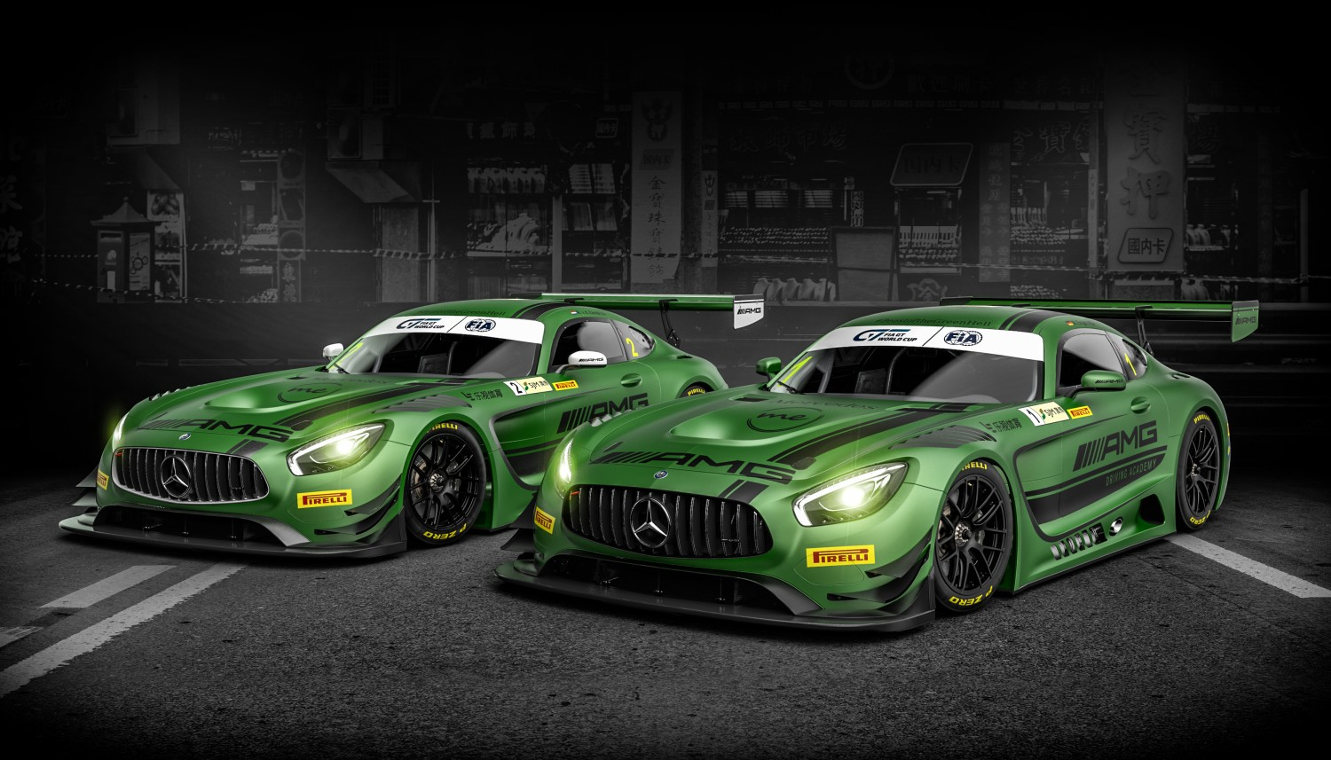 Blancpain GT Series drivers star in FIA GT World Cup