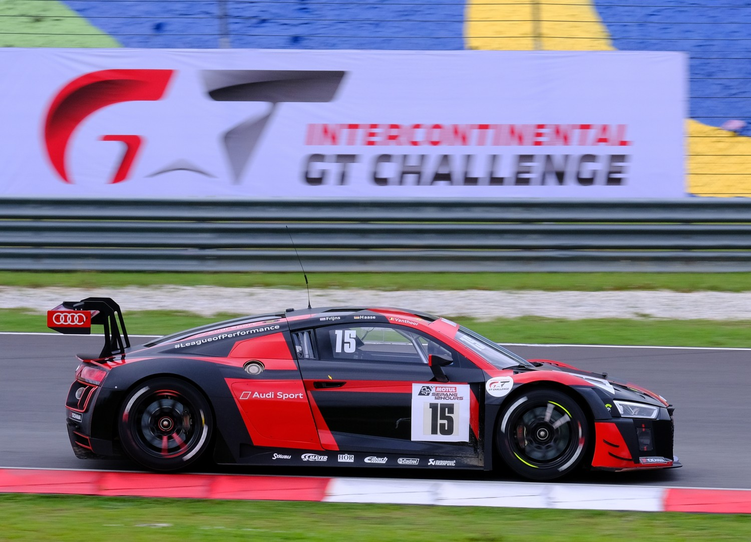 Motul Sepang 12 Hours : Audi leading at halfway point