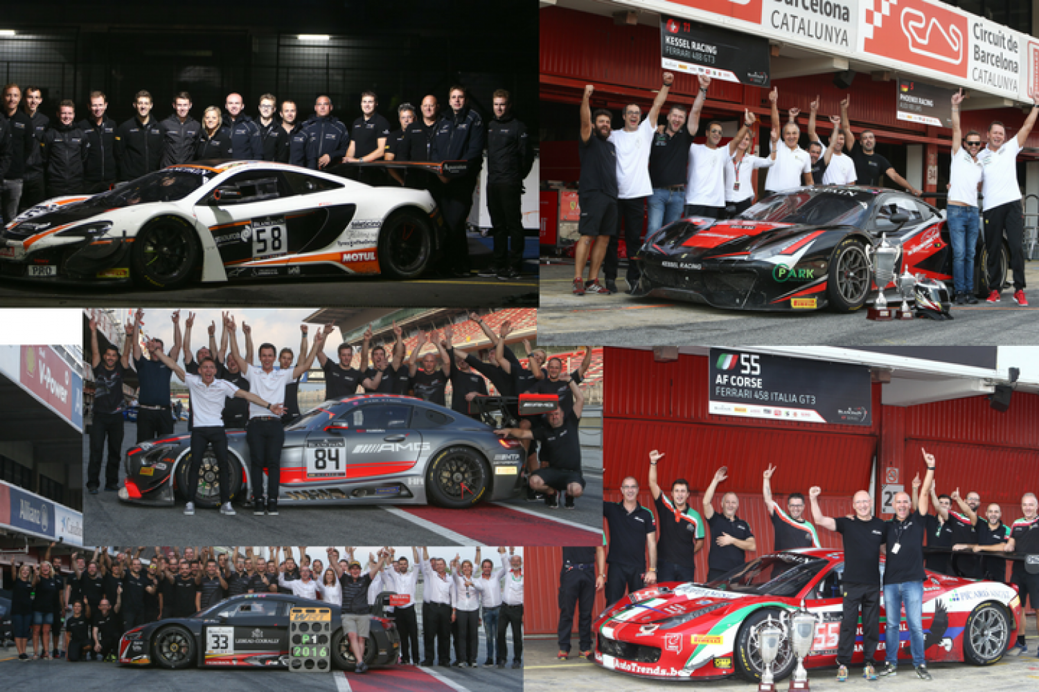 Blancpain GT Series teams proud to collect coveted trophies